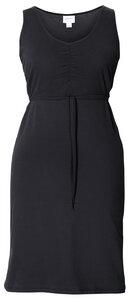 2 in 1 Stillkleid und Umstandskleid 'Giselle' ärmellos schwarz - Boob