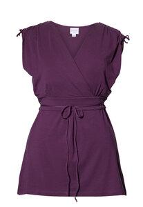 2 in 1 Stillshirt und Umstandsshirt 'Bianca', purple - Boob