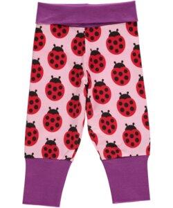 Babyhose 'Ladybug' für Mädchen rosa-lila-rot - maxomorra