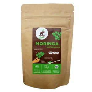 Bio Moringa Blattpulver 100 g - Karma Foods