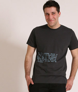 T-Shirt 'Fische-Beifang' - Lena Schokolade