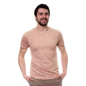 Pinstripe T-Shirt Rot - bleed
