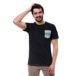 Wave Pocket T-Shirt - bleed