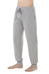 Fairtrade lange Hose, grau-meliert - comazo|earth