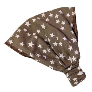 auffächerbares Haarband, kleine Sterne, taube - bingabonga