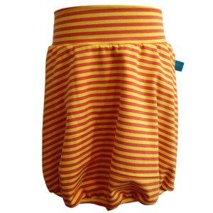 Ballonrock, gelb/orange geringelt - bingabonga