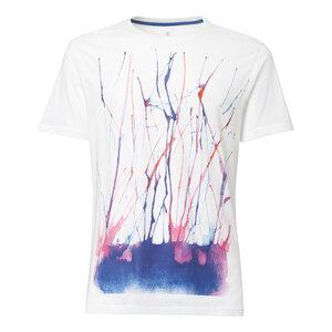 ThokkThokk Watercolour T-Shirt white - THOKKTHOKK