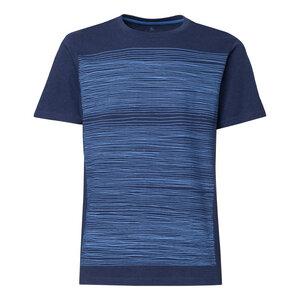 ThokkThokk Strokes T-Shirt blue/midnight melange - THOKKTHOKK