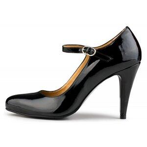 Hellen High Heels Black - E.V.S. - Eco Vegan Shoes