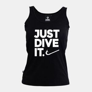 Just dive it. Damen Tank Top schwarz - Lexi&Bö