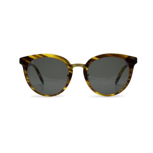 Dick Moby Sustainable Eyewear Sonnenbrille Puerto Plata yellow havana pjJCY6Un