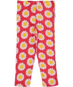 Leggings 'Daisy' für Mädchen rosa-weiß-gelb - maxomorra
