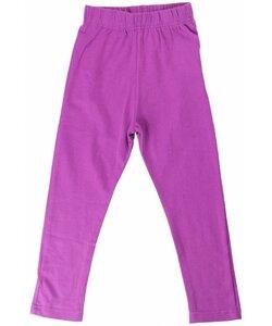 Leggings Basic für Mädchen lila (passend zu vielen Maxomorra-Prints) - maxomorra