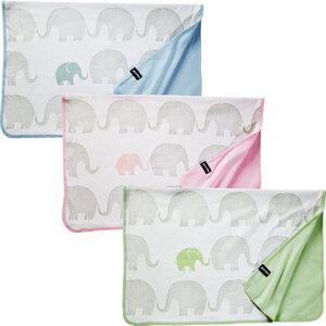 Babydecke Kuscheldecke 100% Bio-Baumwolle 75x100cm + Geschenkschachtel - quschel