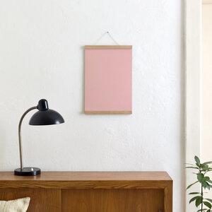 Magnetische Posterleiste / Bilderleiste Eiche A3 - Kleinwaren / von Laufenberg