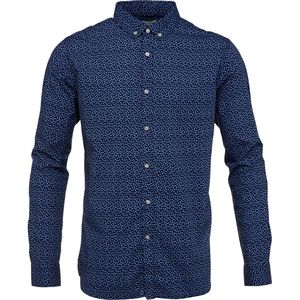 Dot Printed Poplin Shirt - GOTS - KnowledgeCotton Apparel