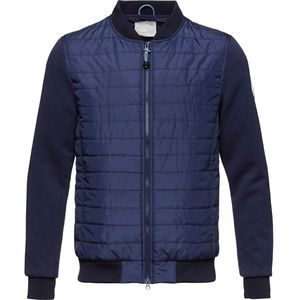 Quilted Jacket w/Double Face Sleeves - aus recycling PET  - KnowledgeCotton Apparel