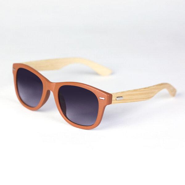 Sonnenbrille Unisex Braun