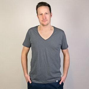 Shirt Basic Grau - Gary Mash