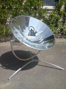Solarkocher Campinggrill 140 cm Durchmesser (Leistung 700 Watt) - RELAXFAIR