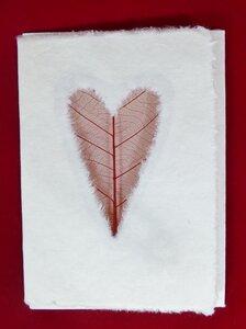 Set 3 Grusskarten aus handgeschöpftem Maulbeerbaumpapier - Schönes aus Indochina