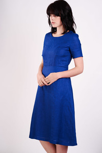 Zara Linen Day Dress  - bibico