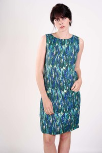 Botanical Sleeveless Dress  - bibico