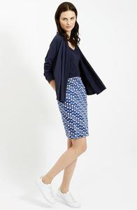 Lauren Skirt Blue - People Tree