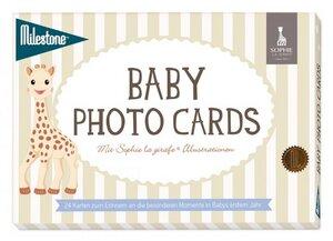 SOPHIE LA GIRAFE BABY PHOTO CARDS VON MILESTONE- DEUTSCHE VERSION - Milestone