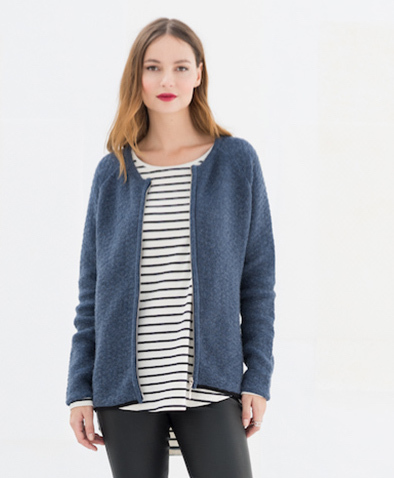 cb00f3809640be Miss Green - Haille Vest - Jeans Blue   Avocadostore