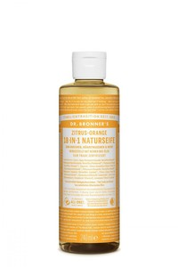 Magic Soap Flüssigseife Zitrus Orange 240ml - Dr. Bronner's