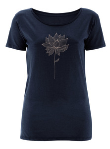 Red Blossoms - Smooth - T-Shirt - GreenBomb
