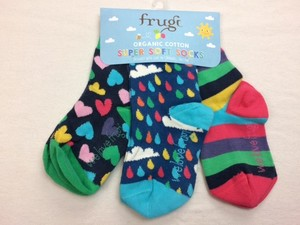 Super Soft Socks 3er Pack Rainbow - Frugi