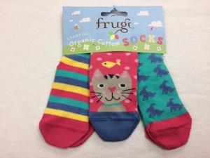 Super Soft Socks 3er Pack Kitty - Frugi