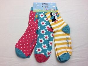 Super Soft Socks 3er Pack Paradise Bird - Frugi