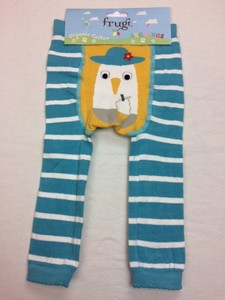 Little Knitted Leggings Seagull - Frugi