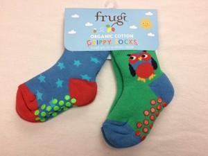 Grippy Socks 2er Pack Owl - Frugi