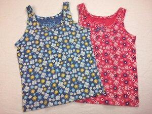 Mädchen Unterhemd 2er Pack Flutterby - Frugi