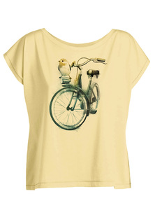 Birdie Bike  - Float - T-Shirt - GreenBomb