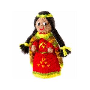 Fair Trade Fingerpuppe Königin der Inka Handarbeit - Mama Ocllo