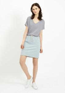 Selena Loopback Skirt Blue - People Tree