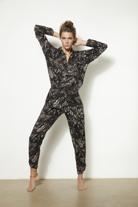 JUMPSUIT LEYLA ANIMAL-PRINT - Hati-Hati