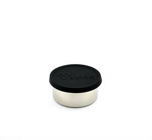 Runde Edelstahl Lunchbox schwarz  - Made Sustained