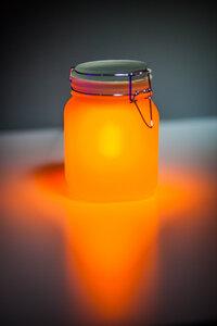 Sun Jar Solarlicht im Einmachglas  - Suck UK