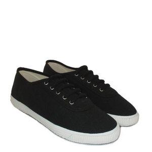 Startas Black Canvas Sneaker Low - Startas