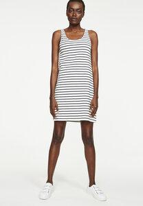 Jerseykleid aus Bio-Baumwoll Mix Peri Classic Stripes - ARMEDANGELS