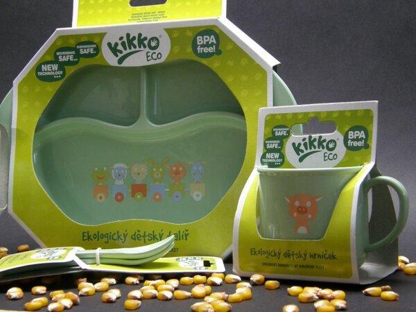 Kinder Teller unterteilt spülmaschinenfest umweltfreundlich XKKO ECO Baby