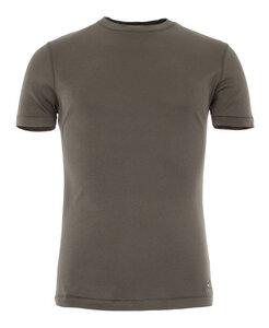 Basic Shirt Kurzarm OLIVER, olive - Kamah
