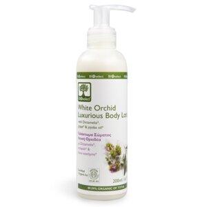 Luxuriöse Körpermilch mit weißer Orchidee 200ml - BIOselect