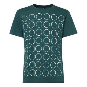 ThokkThokk Triple Polka T-Shirt deep teal - THOKKTHOKK
